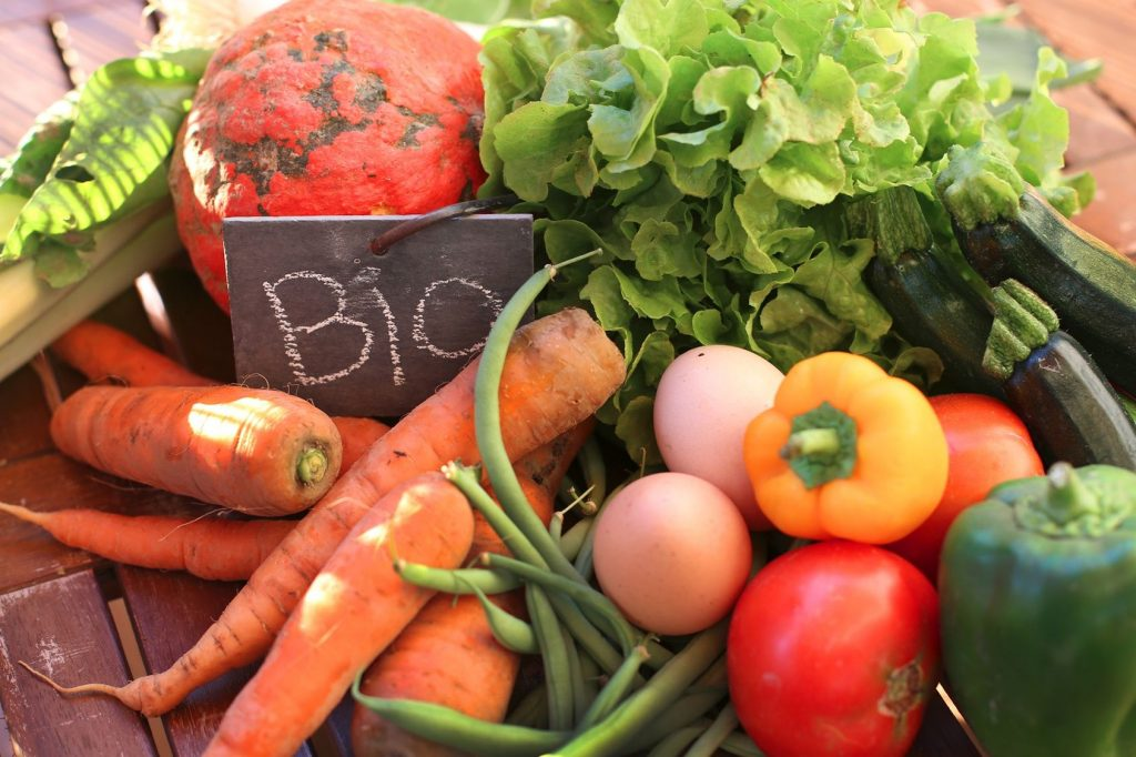 Consommation produits bio